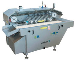 Turbot gutting machine